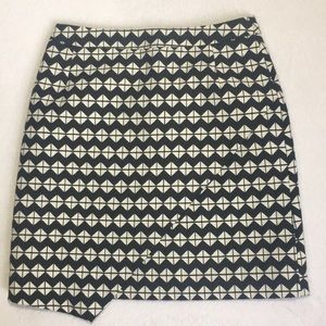 H&M Womens Mini Skirt Black And White Size 4
